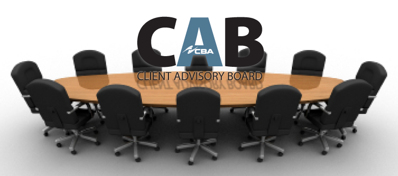 "The CBA ""Client Advisory Board"""