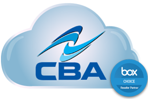 CBA Cloud Solution powered by box.
