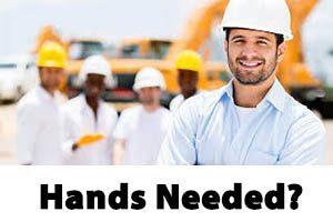 Hands needed