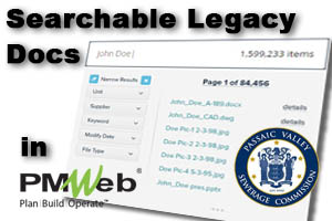 Importing Searchable Legacy Documents and Drawings into PMWeb