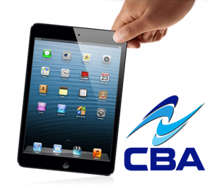 CBA picked a winner for the brand new iPad Mini drawing held at 2013 Construction CPM.